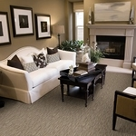 Echelon Cut and Loop Carpet by Dixie Home