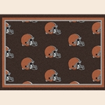 Cleveland Browns NFL Team Repeat Rug