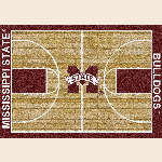 Mississippi State College Home Court