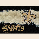 New Orleans Saints NFL Team Fade