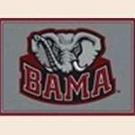 Alabama Crimson Tide Team Spirit Rug