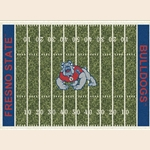 CAL State Fresno College Home Field Rug