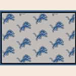 Detroit Lions NFL Team Repeat Rug