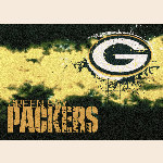 Green Bay Packers NFL Team Fade