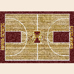 Iowa State College Home Court