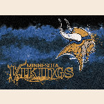 Minnesota Vikings NFL Team Fade