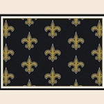 New Orleans Saints NFL Team Repeat
