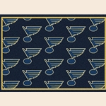 St. Louis Blues NHL Team Repeat