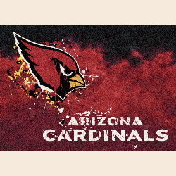 Arizona Cardinals NFL Team Fade