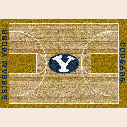Brigham Young College Home Court