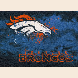 Denver Broncos NFL Team Fade