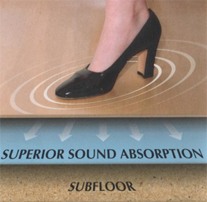 Sound Solution Underlayment